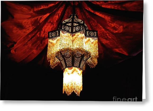 Moroccan Glow Greeting Card by Slade Roberts