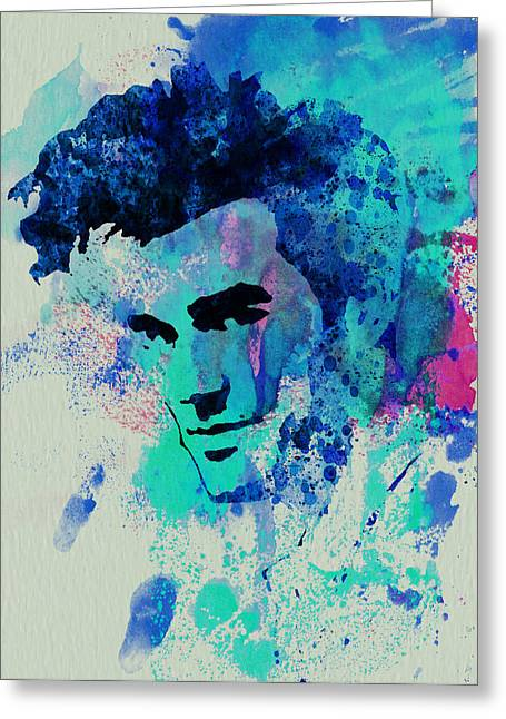Star Greeting Cards - Morrissey Greeting Card by Naxart Studio