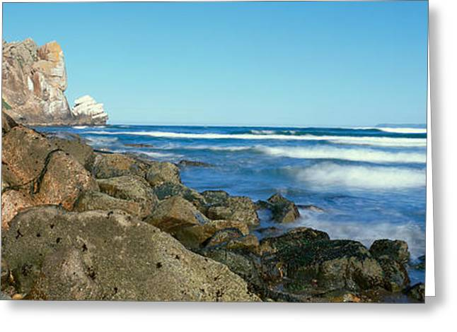 Morro Bay Greeting Cards - Morro Bay, California Greeting Card by Panoramic Images