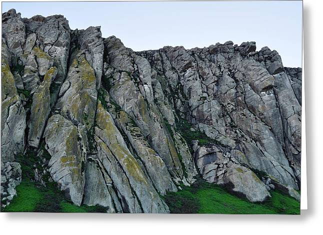 Nine Sisters Greeting Cards - Morro Rock Greeting Card by Kyle Hanson