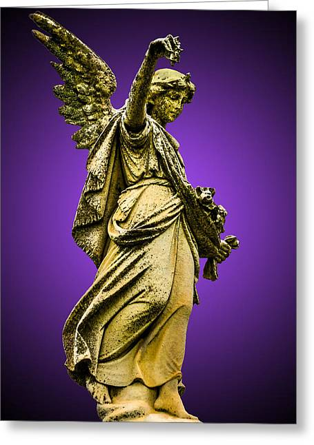 Weeping Greeting Cards - Mortal Coil Greeting Card by Brian Stevens