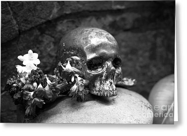 Old Street Greeting Cards - Morte Greeting Card by John Rizzuto