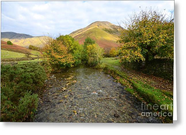 Mosedale Beck Greeting Card by Stephen Smith