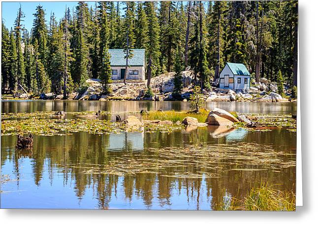 Ebbetts Pass Greeting Cards - Mosquito Lake Greeting Card by Cristi Canepa
