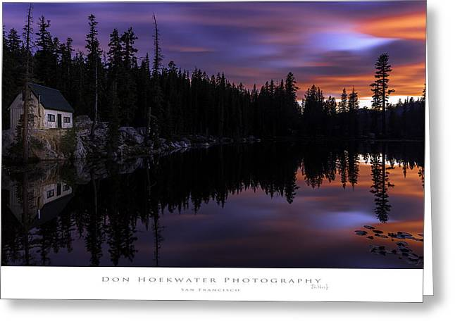 Ebbetts Pass Greeting Cards - Mosquito Lake Greeting Card by PhotoWorks By Don Hoekwater