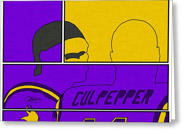 Moss And Culpepper Greeting Card by Kyle West
