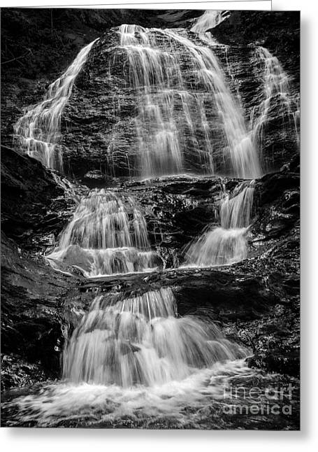Shady Greeting Cards - Moss Glen Falls Vermont Greeting Card by Edward Fielding