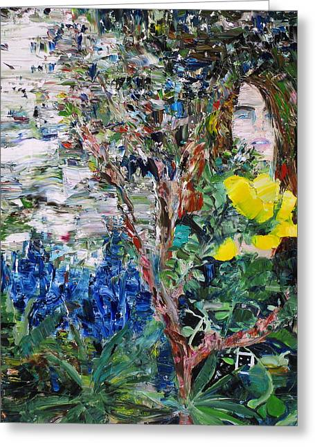 Tree Roots Paintings Greeting Cards - Mother Greeting Card by Fabrizio Cassetta