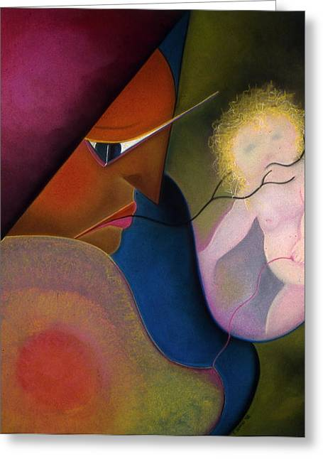 Tracey Levine Greeting Cards - Mother Greeting Card by Tracey Levine