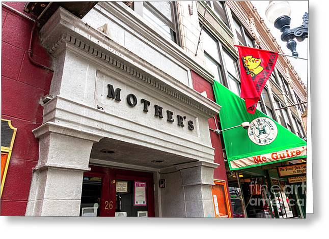 Artist Photographs Greeting Cards - Mothers Chicago Greeting Card by John Rizzuto