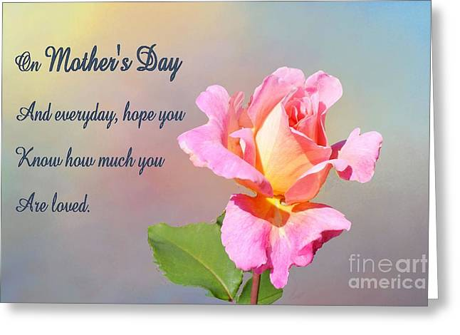 Wishes Greeting Cards - Mothers Day Greeting Greeting Card by Janette Boyd