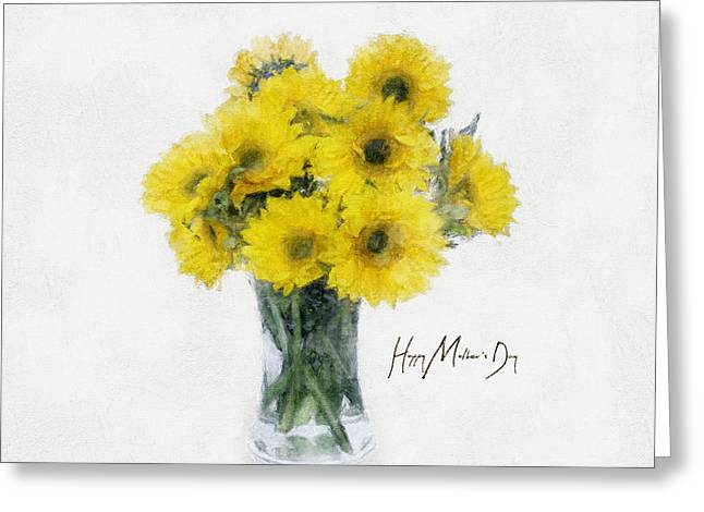 Mother Greeting Cards - Mothers Day Greeting Card by LC Bailey
