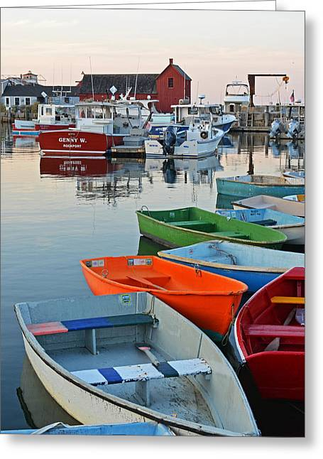 Motif #1 Rockport Ma Greeting Card by Toby McGuire