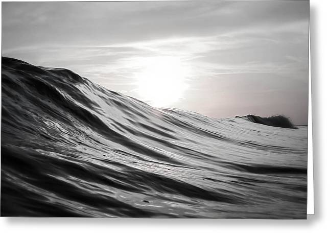 Smoothed Greeting Cards - Motion of Water Greeting Card by Nicklas Gustafsson