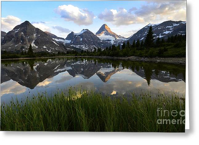 Mount Assiniboine Canada 10 Greeting Card by Bob Christopher