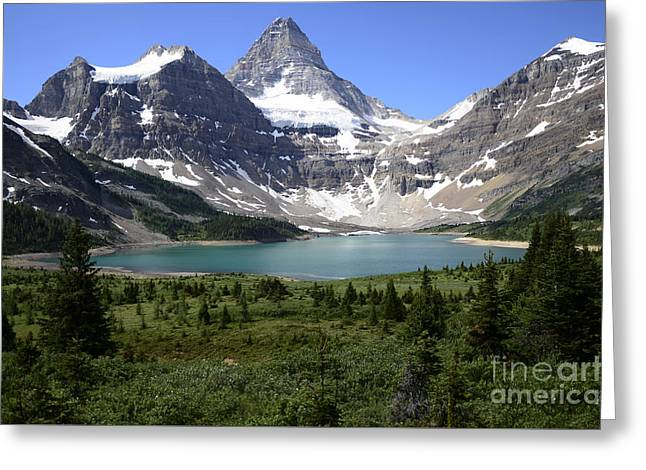 Mount Assiniboine Canada 16 Greeting Card by Bob Christopher