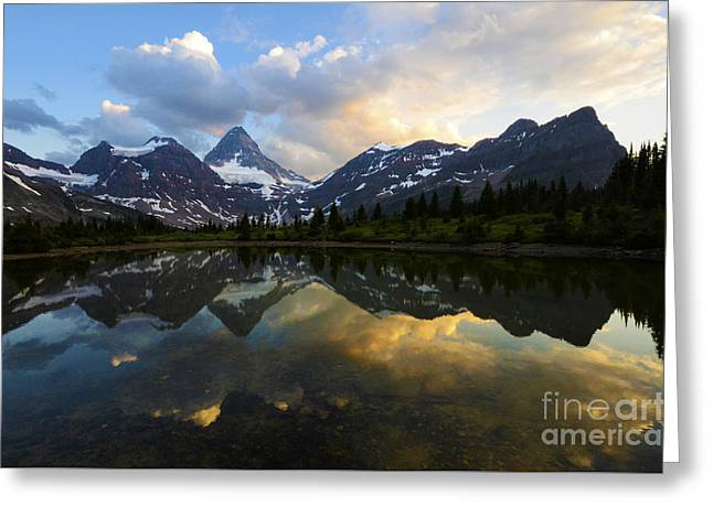 Mount Assiniboine Canada 2 Greeting Card by Bob Christopher