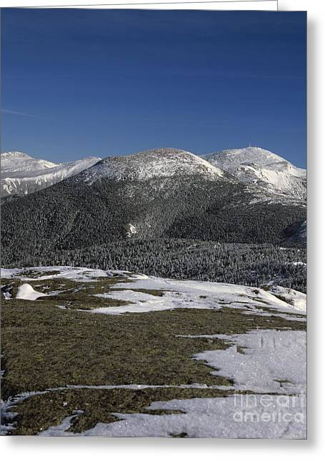 Hike Greeting Cards - Mount Eisenhower - White Mountains New Hampshire Greeting Card by Erin Paul Donovan