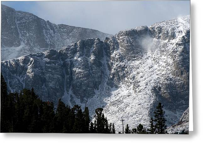 Colorado Mountains Greeting Cards - Mount Evans Greeting Card by Noah Bryant