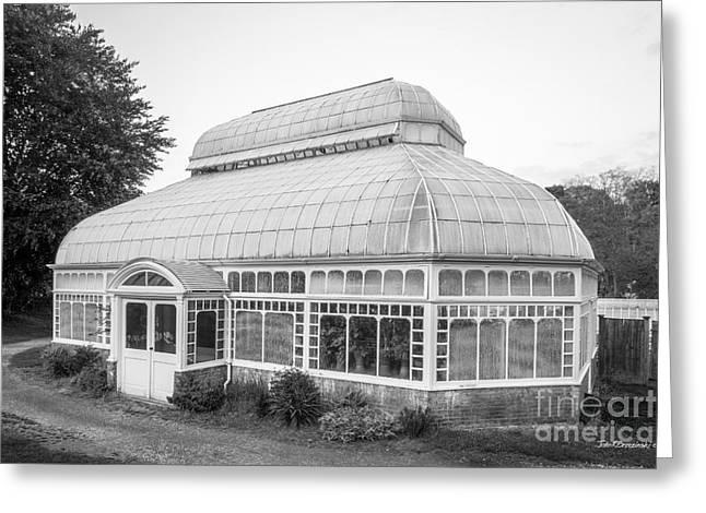 Mount Holyoke College Talcott Greenhouse Greeting Card by University Icons