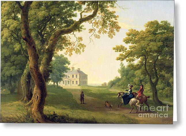 Ground Greeting Cards - Mount Kennedy - County Wicklow Greeting Card by William Ashford