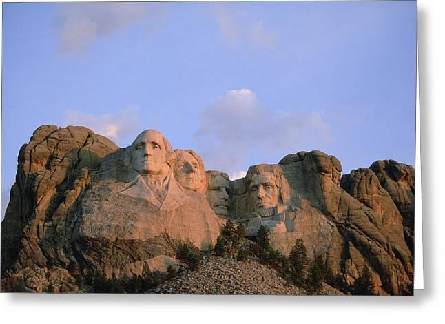 Rushmore Photographs Greeting Cards - Mount Rushmore National Memorial Greeting Card by Joel Sartore