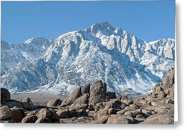 Mount Whitney Greeting Cards - Mount Whitney Greeting Card by Gary Zuercher