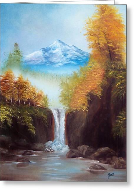 Mountain Majesty Greeting Card by Joni McPherson