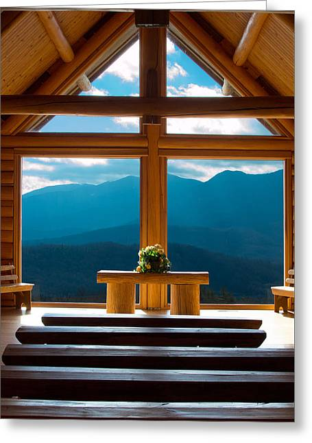 Bible Greeting Cards - Mountain Redemption Greeting Card by Capturing The Carolinas