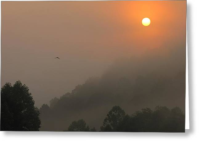 Shane Brumfield Greeting Cards - Mountain Sunrise 2 Greeting Card by Shane Brumfield