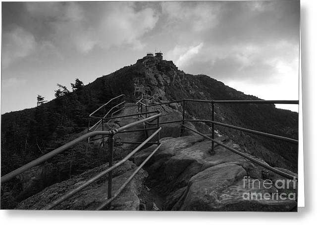 White Face Mountain Greeting Cards - Mountain Trail Greeting Card by David Lee Thompson
