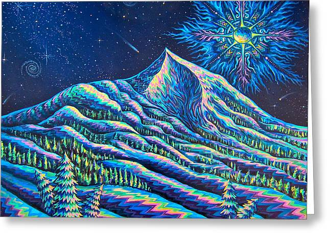 Ayahuasca Greeting Cards - Mountains I Have Known And Loved Greeting Card by Jim Figora