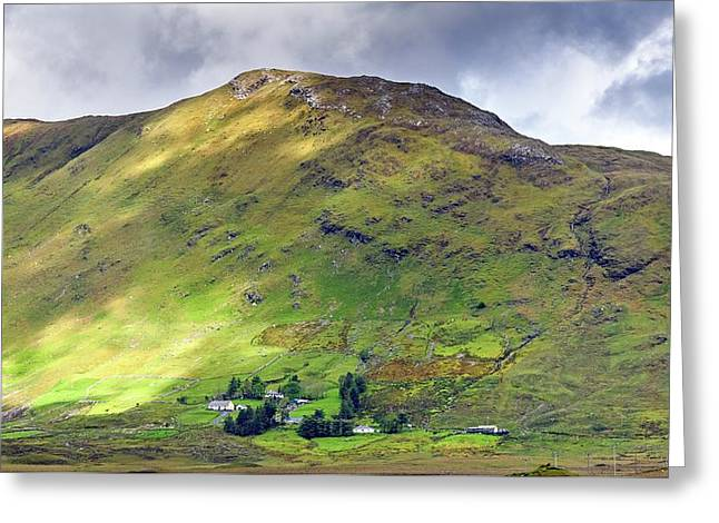 Mountains Of Ireland Greeting Card by Chris Buff