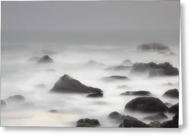 Aquatic Greeting Cards - Mountaintops Greeting Card by Mark Alder