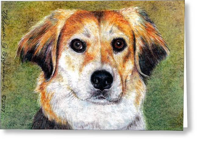 Bojangles Greeting Cards - Mr Bojangles Greeting Card by Melissa J Szymanski