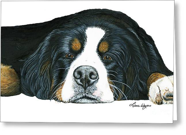 Liane Greeting Cards - Mr Mellow Greeting Card by Liane Weyers