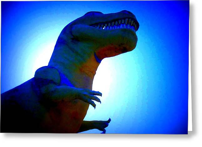 Tourist Trap Greeting Cards - Mr. Rex 2 Greeting Card by Randall Weidner