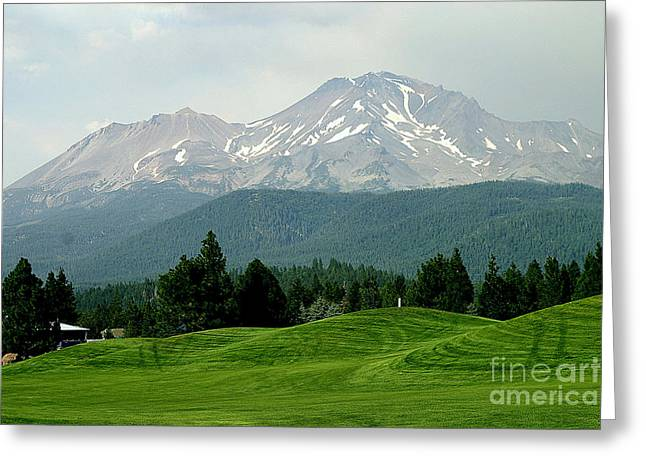 Mt Bachelor Greeting Cards - Mt Bachelor Greeting Card by Chuck Kuhn