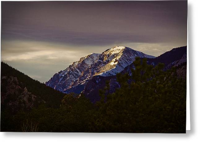Mummy Range Greeting Cards - Mt. Chapin Greeting Card by G Wigler