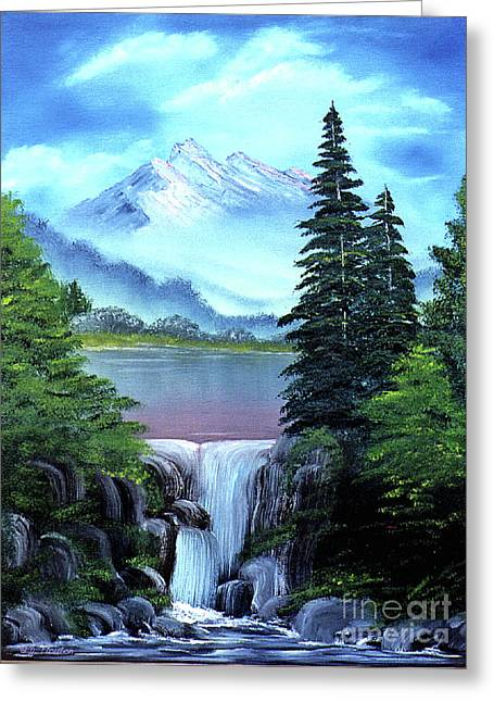 Ebsq Greeting Cards - Mt Fuji Greeting Card by Dee Flouton