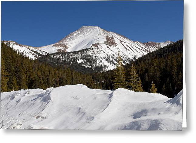 13er Greeting Cards - Mt. Guyot Greeting Card by Aaron Spong