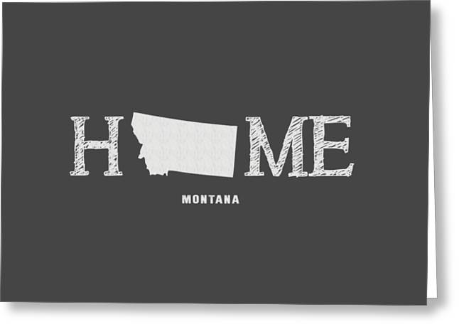 Missoula Greeting Cards - MT Home Greeting Card by Nancy Ingersoll
