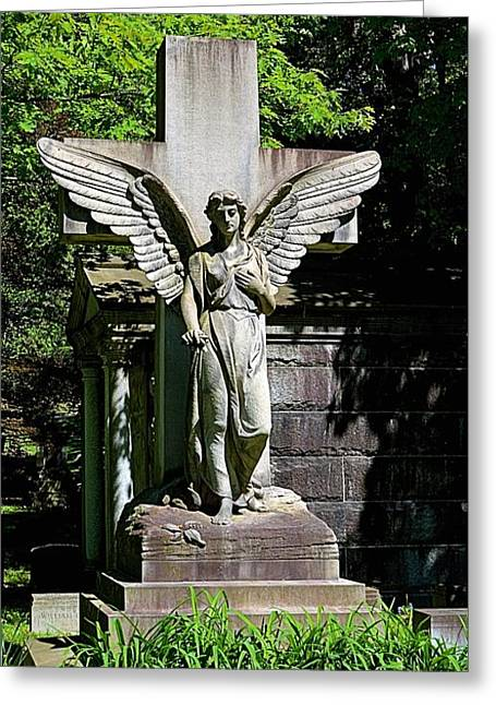 Mt. Hope Angel Greeting Card by Richard Jenkins