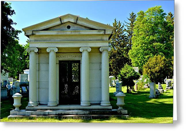 Mt. Hope Cemetery 3 Greeting Card by Richard Jenkins