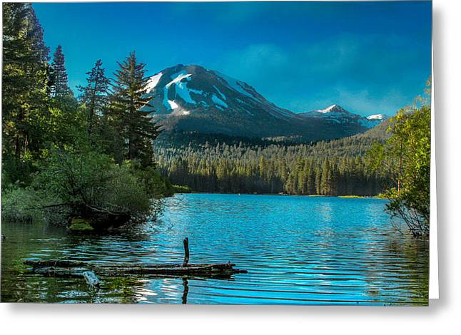 Scenic Greeting Cards - Mt Lassen Greeting Card by Bill Gallagher