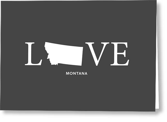 Missoula Greeting Cards - MT Love Greeting Card by Nancy Ingersoll