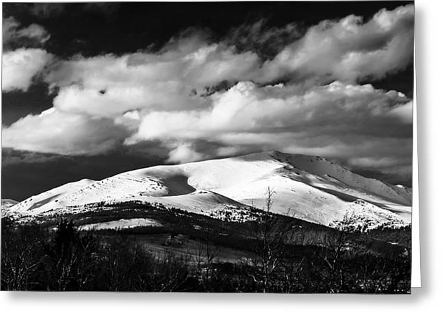13er Greeting Cards - Mt. Silverheels Fairplay Colorado Greeting Card by Dennis Wagner