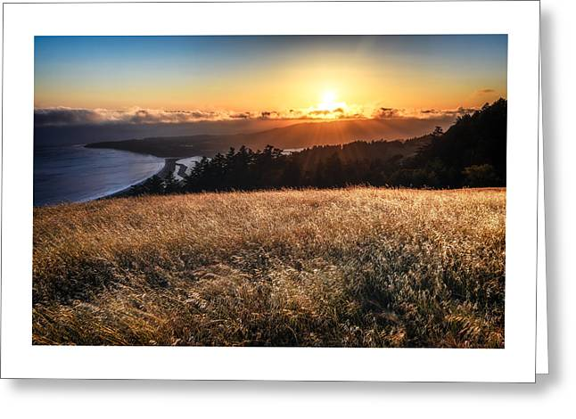 Marin County Greeting Cards - Mt Tams Bounty Greeting Card by Dan Shehan