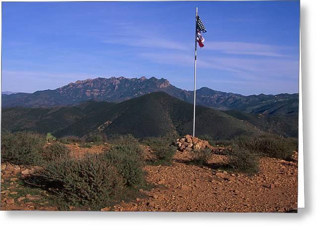 Mugu Peak Greeting Card by Soli Deo Gloria Wilderness And Wildlife Photography