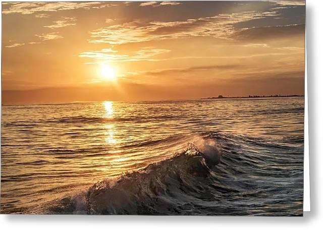 Ventura California Greeting Cards - Mugu Tide Greeting Card by Tim Keagy